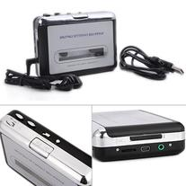 HDE Tape-To-MP3 Retro Cassette Player USB Portable Tape Deck