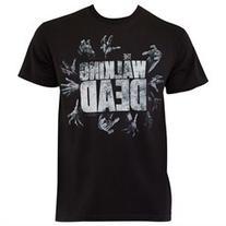 Walking Dead Hands Logo Tee Shirt
