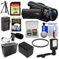 Sony Handycam FDR-AX100 Wi-Fi 4K HD Video Camera Camcorder