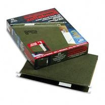 Hanging Box Bottom Folder with InfoPocket, Standard Green,
