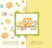 Creative Converting 897128B Happi Tree Invitation Bulk