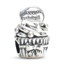 BELLA FASCINI Happy Birthday Cupcake European Bead Charm