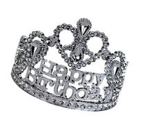 Happy Birthday Silver Tiara