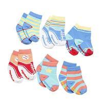 Elegant Baby Baby Boys' Happy Toes  - Sorbet Brights - 0-12