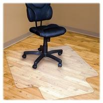 Hard Floor Recycled Chairmat with Lip