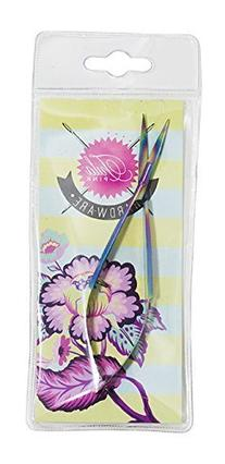Tula Pink Hardware Collection 5 Inch Curved EZ Snips