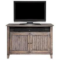 Martin Furniture Harmon 40 TV Console Weathered Greige