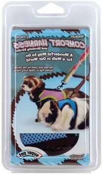 3 PACK HARNESS WITH STRETCHY STROLLER, Size: MEDIUM