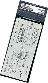 Harold Muddy Ruel Signed Psa/dna 1961 Check Autograph