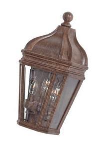 Harrison Outdoor Wall Lantern in Vintage Rust