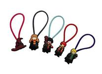Harry Potter Colorful Hairband Ponytail Holder 5 Pcs Set #1