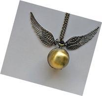 Harry Potter Snitch Watch Pendant Necklace Steampunk