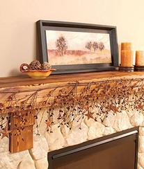 Harvest Autumn Pip Berry Garland - 4ft by LDI