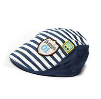 Usstore 1PC Boy Girl Kids Hat Stripes Baseball Cap Peaked