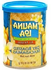 Hawaiian Value Pack Mauna Loa Dry Roasted Macadamia Nuts &
