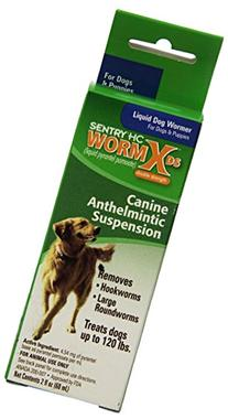 SENTRY HC WormX DS  Canine Anthelmintic Suspension De-wormer