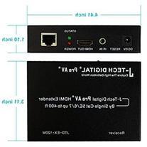 J-Tech Digital  Hdmi Extender Over Tcpip Ethernetover Single