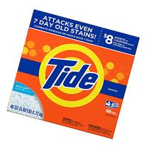 Tide Original HE Turbo Powder Laundry Detergent, 68 Loads,