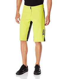 Fox Head Men's Attack Q4 Cw Shorts, Acid Green, 30