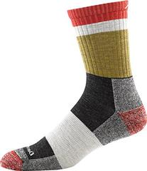 Darn Tough Heady Stripe Micro Crew Light Cushion Socks - Men