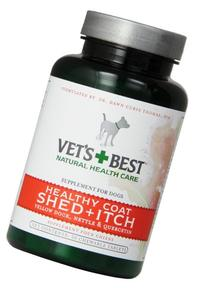 Vet's Best Healthy Coat Shed & Itch Relief Dog Supplements,