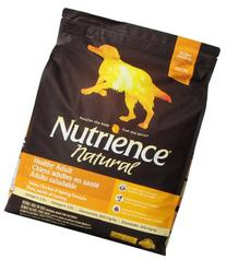 Nutrience Natural Healthy Adult Dog Food, 18-Pounds, Turkey