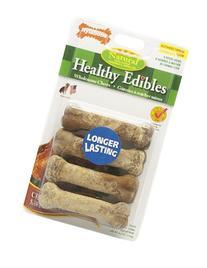 Nylabone Healthy Edibles Petit Chicken Flavored Dog Treat