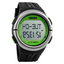 Skmei Men Women Heart Rate Monitor Pedometer Digital Sport