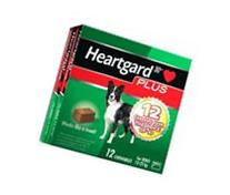 Heartgard Plus Chew Green 12 PACK