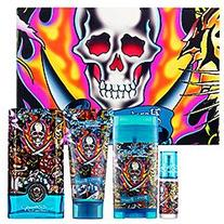 Hearts & Daggers By Ed Hardy Men 3.4 Oz Gift Set by