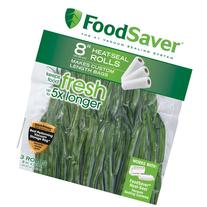 "FoodSaver 8"" Heat-Seal Roll, 3pk"