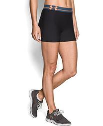 Under Armour Women's UA HeatGear Armour Shorty Large Black