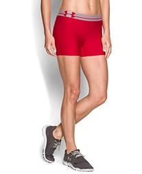 Under Armour Women's HeatGear Armour Shorty, Red/Red, Small