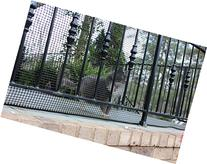 Cardinal Gates Heavy-Duty Outdoor Deck Netting, Black, 15