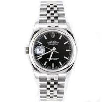 Rolex Mens New Style Heavy Band Stainless Steel Datejust
