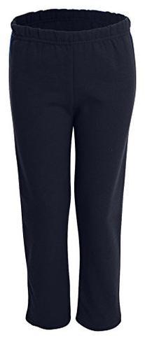 Gildan Heavy Blend Youth Open-Bottom Sweatpants, Nvy, Small
