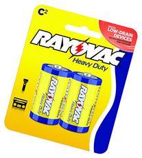 Rayovac Heavy C Duty Batteries, 4C-2BD, 2-Pack