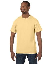 Gildan 5.3 oz. Heavy Cotton T-Shirt, X-Large, Yellow Haze