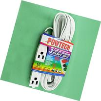 Powtech 20 Feet HEAVY DUTY 3Prong 3 Outlet Extension Cord