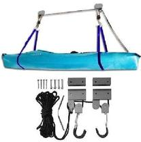 ProSource 125-Pound Heavy Duty Garage Utility Canoe and