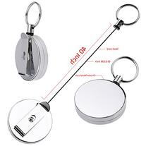 Kare and Kind Heavy Duty retractable Reel with Belt Clip, 40
