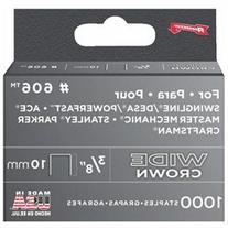 Arrow Fastener #60630 1000PK 3/8 Heavy Duty Staple