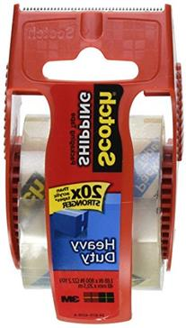 Scotch Heavy Duty Shipping Packaging Tape, 1.88 Inch x 800