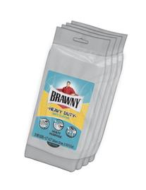 Brawny® Heavy Duty Wet Cloths, Fresh Scent, 80 Count Wipes