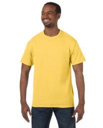 Jerzees Dri-Power Mens Active T-Shirt 2X-Large Island Yellow