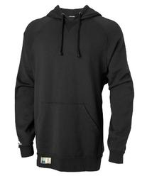 Russell Athletic Mens Heavyweight Fleece Pullover Hood Black