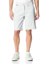 Travis Mathew Men's Hefner Golf Shorts, Dawn Blue/Grey, 34