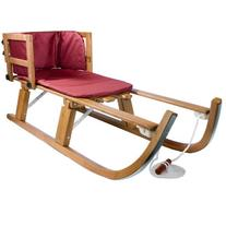 Lucky Bums Heirloom Collection Wooden Foldable Pull Sled