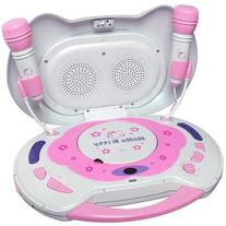 Hello Kitty KT2003B CD Karaoke System and CD Player, Random