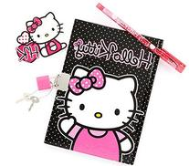 "Hello Kitty Diary with Gel Pen and Lock 5""x7"